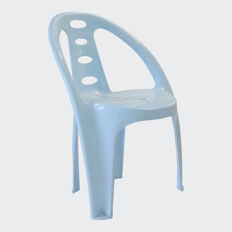 Plastic chair moulding process